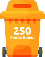 250 Points Bonus