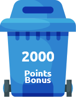 2000 Points Bonus